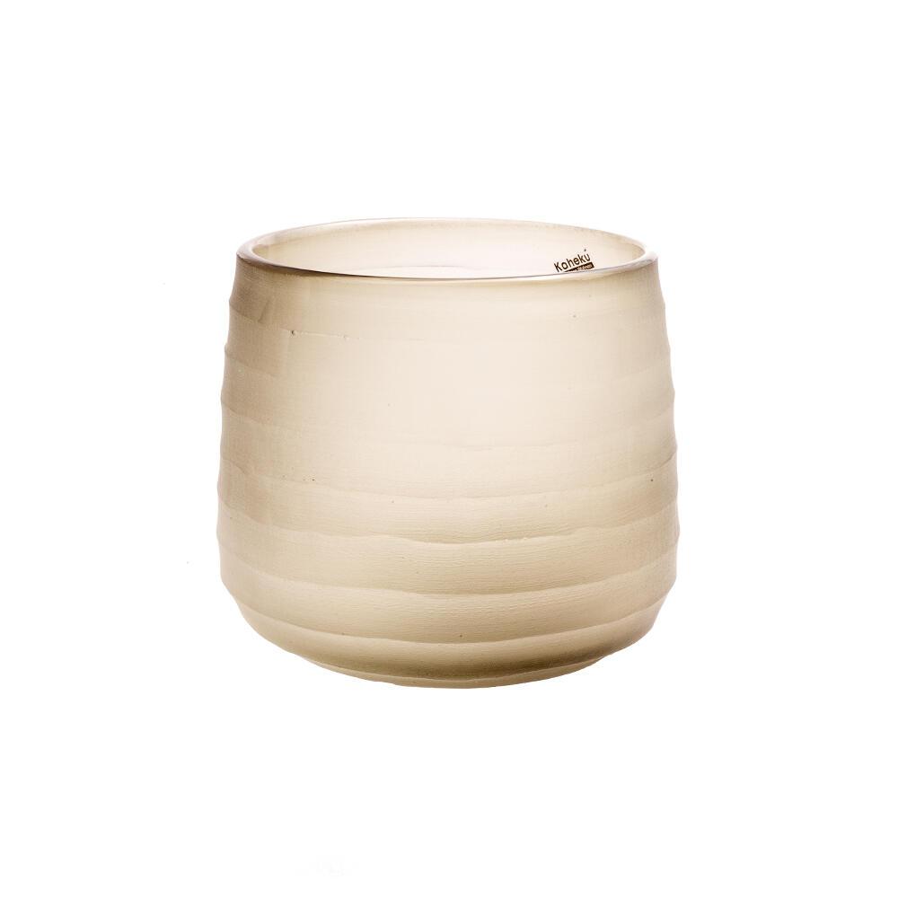 Bougeoir lanterne en verre