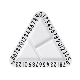 Servierplatten Teller Stillen & Füttern Design Letters