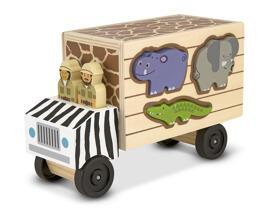 Sortier-, Stapel- & Steckspielzeug Holzsteckpuzzle Melissa & Doug