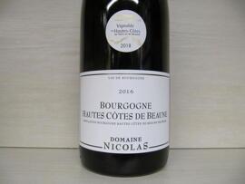 Bourgogne Domaine Nicolas