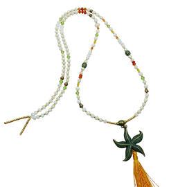 Perlenschmuck Edelsteinschmuck Handgefertigt Halsketten Damenschmuck MB-DESIGN Schmuckherstellung
