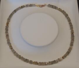 Edelsteinschmuck Halsketten Handmade Glas-& Schmuckdesign Erika Wagner