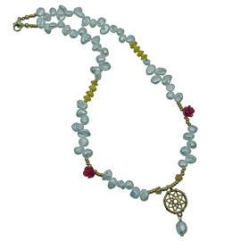 Perlenschmuck Edelsteinschmuck Modeschmuck Handgefertigt Perlenketten Halsketten Damenschmuck MB-DESIGN Schmuckherstellung