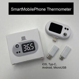 Kopfhörer & Headsets BLS - Mobile Infrarot Thermometer