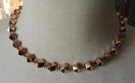 Handgefertigt Halsketten Glas-& Schmuckdesign Erika Wagner