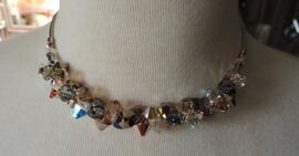 Halsketten Handgefertigt Glas-& Schmuckdesign Erika Wagner