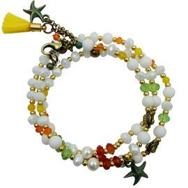 Perlenschmuck Handgefertigt Armbänder Damenschmuck Schmucksets Armbänder MB-DESIGN Schmuckherstellung