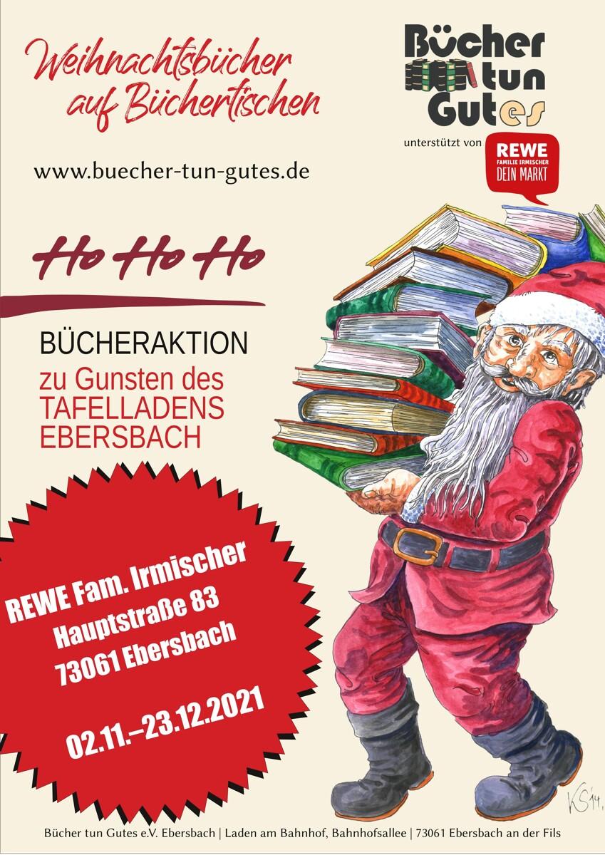 Hohoho - Bücheraktion zu Gunsten des Tafelladens Ebersbach