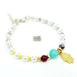 Armbänder Damenschmuck Edelsteinschmuck Perlenschmuck Handgefertigt MB-DESIGN Schmuckherstellung