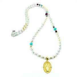 Halsketten Damenschmuck Edelsteinschmuck Handgefertigt Perlenschmuck Perlenketten MB-DESIGN Schmuckherstellung