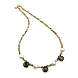Perlenschmuck Handgefertigt Halsketten Damenschmuck MB-DESIGN Schmuckherstellung
