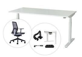 Büromöbelgarnituren Büro- & Schreibtischstühle Schreibtische Verstellbare Zeichentische Arbeitsplätze im Großraumbüro Schwarzwald-Lab