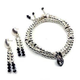 Perlenschmuck Handgefertigt Armbänder Damenschmuck Schmucksets MB-DESIGN Schmuckherstellung