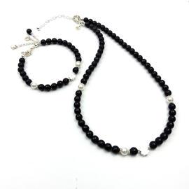 Perlenschmuck Handgefertigt Perlenketten Armbänder Halsketten Schmucksets Damenschmuck MB-DESIGN Schmuckherstellung