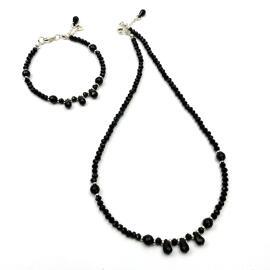 Perlenschmuck Handgefertigt Damenschmuck Schmucksets Armbänder Halsketten MB-DESIGN Schmuckherstellung