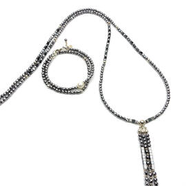Perlenschmuck Handgefertigt Halsketten Damenschmuck Schmucksets MB-DESIGN Schmuckherstellung
