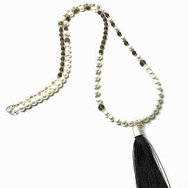 Perlenschmuck Edelsteinschmuck Handgefertigt Halsketten MB-DESIGN Schmuckherstellung