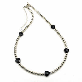 Edelsteinschmuck Silberschmuck Handgefertigt Halsketten Damenschmuck MB-DESIGN Schmuckherstellung