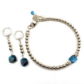 Perlenschmuck Edelsteinschmuck Silberschmuck Ohrringe Handgefertigt Armbänder Damenschmuck Schmucksets MB-DESIGN Schmuckherstellung