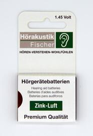 Akkus & Batterien Hörakustik Fischer