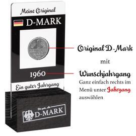 Meine D-Mark mit Wunschjahrgang