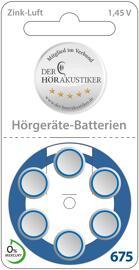 Hörgerätebatterien Bayer Hörakustik