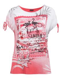 Rundhals-T-Shirts Lebek