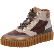 Sneaker Wedges Voile Blanche
