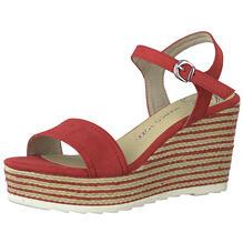 Schuhe Sandaletten Keilsandaletten Marco Tozzi