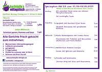 kochtöpfle Speiseplan KW 23