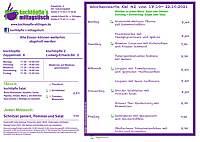 kochtöpfle Speiseplan KW 42