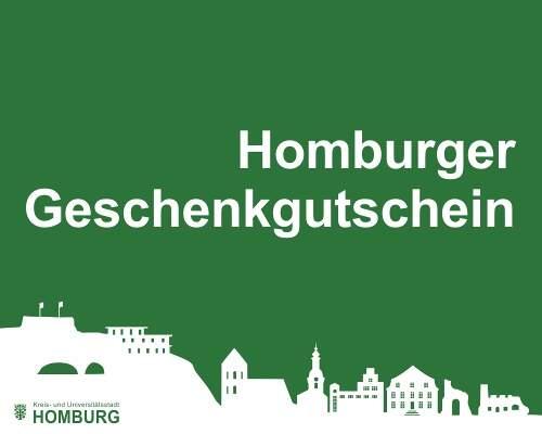 Geschenkgutschein Homburg