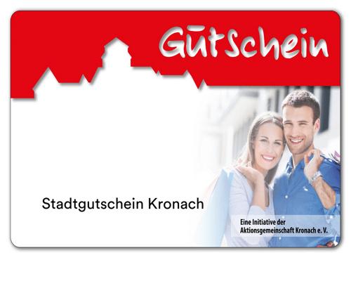 Kronach-Gutschein